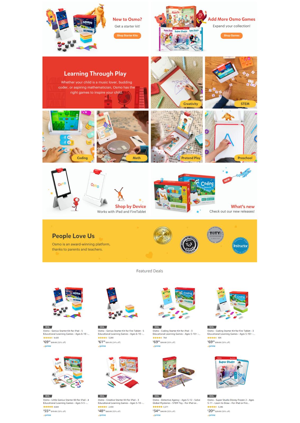 amazon storefront example 2