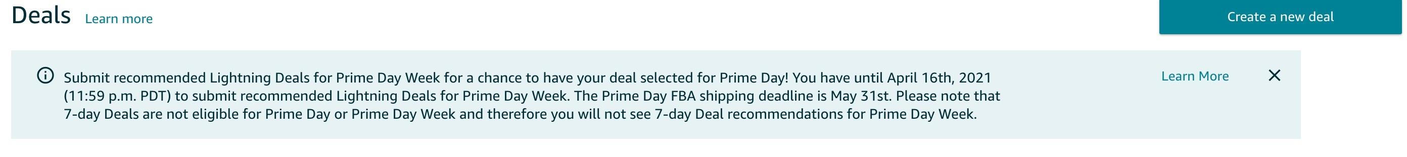 Amazon Prime Day 2021 News announcement