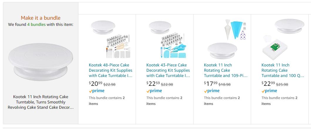 amazon virtual bundles example