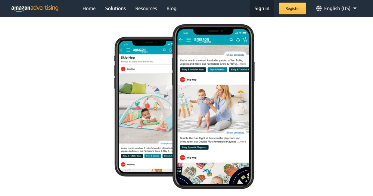 amazon posts increase product visibility